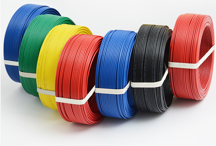 <strong>Electric wire cables PVC insulated cables 450/750V and below</strong>