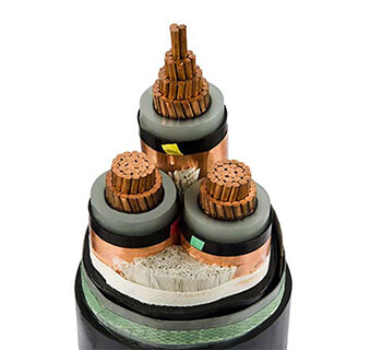 Three Core Medium Voltage Power Cable